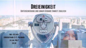 Studentenfutter #11 SS2017 - Heilige Dreieinigkeit @ CCCafé | Freiburg im Breisgau | Baden-Württemberg | Deutschland