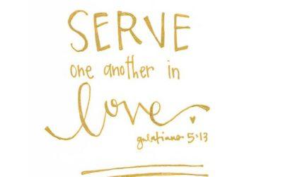 Einander dienen wie Jesus