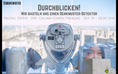 Studentenfutter 2/2016 – Wir basteln uns einen Denkmuster-Detektor