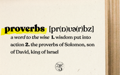Proverbs: Friendships