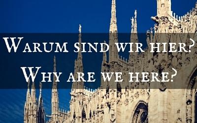 Wir sind als Gemeinde hier um einander zu lieben und dienen (DE)