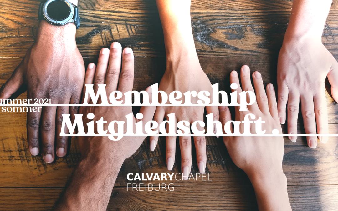 Gemeinsames Leben als Gemeinde(mit)glieder / Church Life Together as Members